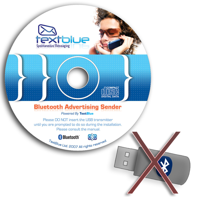 TextBlue Bluetooth Advertising Software